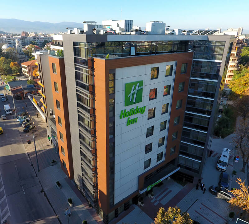 Holiday Inn декоративни мазилки